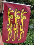 HAND WAVING FLAG - Richard The Lionheart